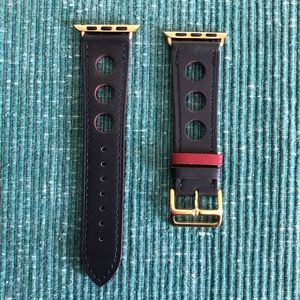 ⭐️GOLD Apple Watch Leather Band Strap All Series